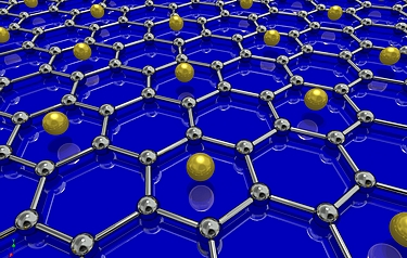 University of British Columbia physicists have been able to create the first superconducting graphene sample by coating it with lithium atoms