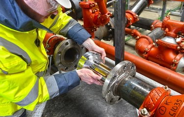 Flow regulator valve is first investment for new company