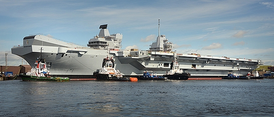HMS Queen Elizabeth (image courtesy of Aircraft Carrier Alliance)
