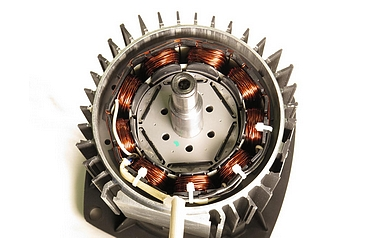 A modern motor manufactured by Hanning Elektro-Werke GmbH & Co KG (photo: Linz Centre of Mechatronics)