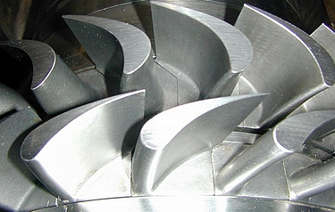 One of the tested turbine stages (photo: DLR)