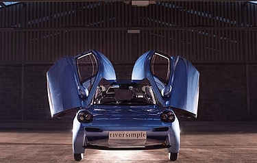 Riversimple Movement's Rasa hydrogen powered car