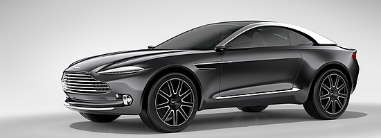 Aston Martin 'DBX' concept car (courtesy of Aston Martin)
