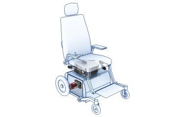 Powered wheelchairs built with these new lifting columns will feature a minimal retracted height making it easy for patients to get into the chair