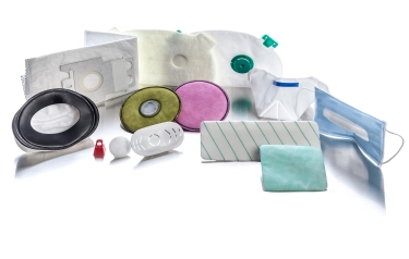 Examples of medical products produced using Telsonic's Cut'n'Seal and SONIQTWIST processes