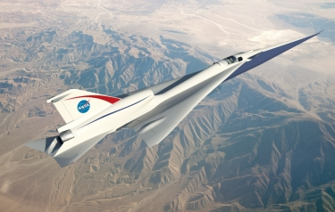 The Quiet Supersonic Technology, or QueSST, concept is in the preliminary design phase and on its way to being one of NASA's first X-planes. (Credits: NASA)