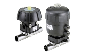 The Bürkert tube valve body has the potential to optimise process efficiency for a wide range of hygienic applications