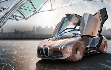 BMW's Vision Next 100 (Credit: BMW)