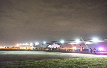 Ready for takeoff (Credit: Solar Impulse)