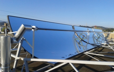 Solar collector (Credit: Helioclim)