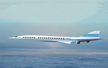 The fastest passenger airplane...