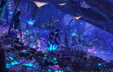 Na'vi River Journey concept art (Credit: The Walt Disney Company)