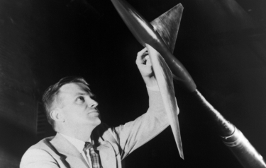 NASA engineer Richard T. Whitcomb relied on a combination of intuition and visualization more than calculations when working out new designs, and his insights revolutionized modern aeronautics. (Credit: NASA)