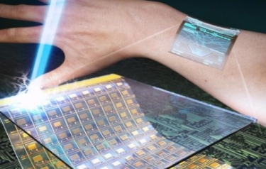 This image shows ultrathin, flexible, and transparent oxide thin-film transistors produced via the ILLO process. (Credit: KAIST)