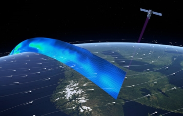 Profiling the world's winds (Credit: ESA)