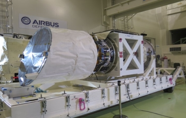 Aladin ready for Aeolus (Credit: ESA)