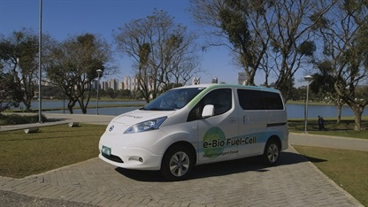 Nissan unveils world's first Solid-Oxide Fuel Cell vehicle (Credit: Nissan)