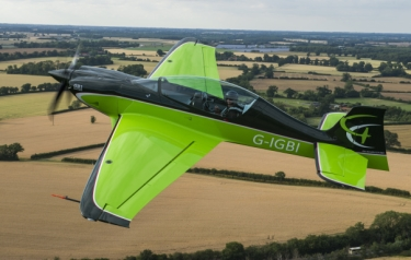 The Game Bird 1 in flight (Credit: Game Composites)