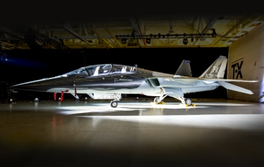 The Boeing and Saab T-X aircraft. (Credit: Boeing)