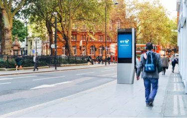LinkUK from BT, supported by digital advertising, will roll out across the capital next year (Credit: BT)