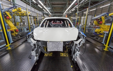 Production of Nissan Juke and Qashqai at Nissan Sunderland Plant (Credit: Nissan)