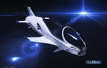 Lexus Designs 28th Century Spaceship For Sci Fi Movie