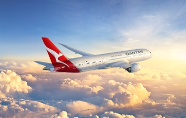 787-9 Dreamliner from Boeing (Credit: Qantas)