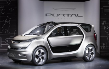 The Chrysler Portal concept (Credit: FCA)