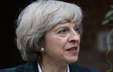 Theresa May (Shutterstock image)