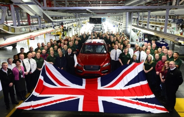 JLR is Britain's biggest car manufacturer for a second year (Credit: JLR)