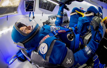 The Starliner spacesuit (Credit: Boeing)