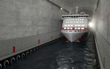 Illustration of Stad Ship Tunnel (Credit: NCA)