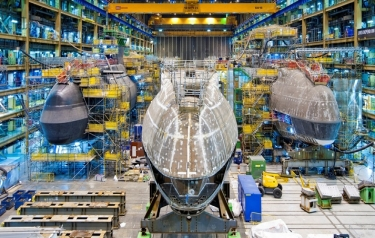 BAE Systems awarded £1.4billion contract for new submarine (Credit: BAE Systems)