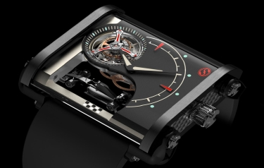 Ollivier Savéo Flying Tourbillion Racer watch