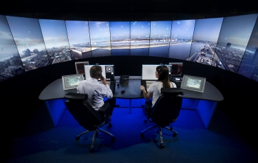 The new London City Airport digital tower service will go live in 2019 (Credit: NATs)