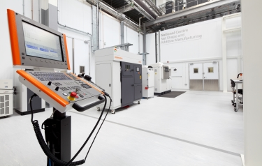 The UK National Centre for Additive Manufacturing based at the MTC in Coventry