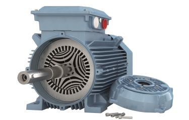 SynRMs are available in sizes that match induction motor frames, or smaller if less space is required