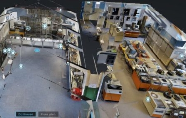 3D virtual tour (Credit: The National Museum of Computing)