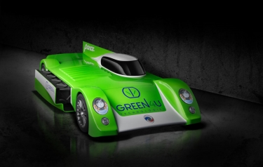 Green4U Panoz Racing GT-EV (Credit: Green4U Technologies)