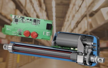 Smart actuators integrate electronics within the actuator housing