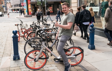 Mobike is launching in London (Credit: Mobike)