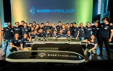 The WARR Hyperloop team