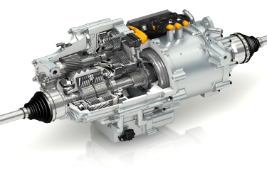 GKN's new eAxle is called 'eTwinsterX' (Credit: GKN)