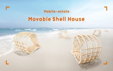 The movable shell house (Credit: LIFULL HOME)