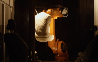 "A robot – nicknamed ""Robutt"" (Credit: Ford Europe)"