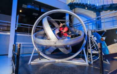 Siemens - Trip into space - adventure park modernises original NASA