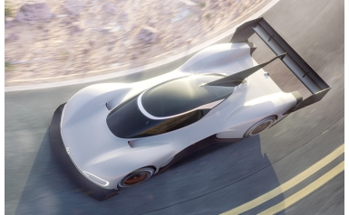 I.D. R Pikes Peak is the title of the all-electric prototype racing car (Credit: Volkswagen)