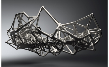 Hackrod sports car chassis developed using Siemens' NX software with Topology Optimization and Convergent Modeling (Credit: Hackrod)