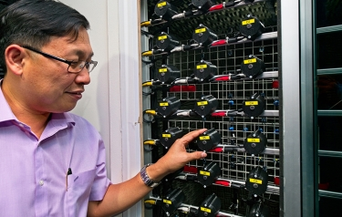 Noise cancelling device by NTU scientists halves noise pollution through open windows (Credit: NTU Singapore)