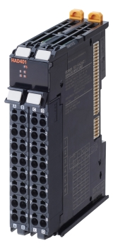 NX-HAD4[][] High-speed Analog Input Unit.  (Photo: Omron, PR047)